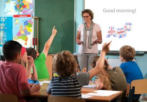 Engelse les basisschool cursus Engels kinderen English is fun Lavendi Taal & Tekst docent schoolklas